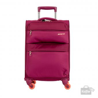 March Elle Trolley S Cabin 4W fuchsia