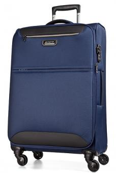 March flybird Trolley L 4W Expandable navy blue