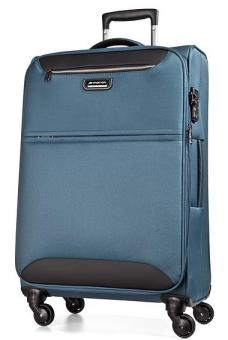 March flybird Trolley M 4W Expandable omega blue