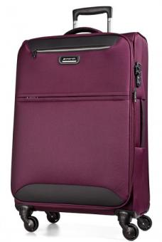 March flybird Trolley L 4W Expandable purple red