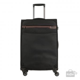 March Lite Trolley L 4W black/cognac