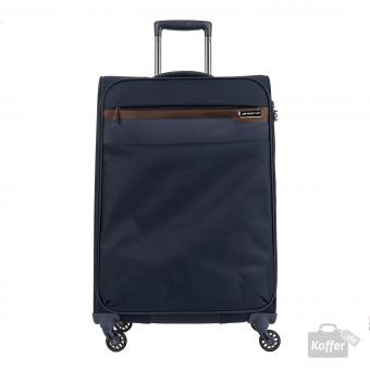 March Lite Trolley M 4W navy/cognac