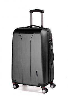 March new carat Trolley L 4W black brushed