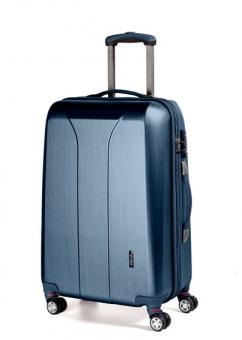 March new carat Trolley M 4W navy brushed