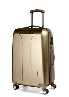 March new carat Cabin Trolley 4W gold brushed