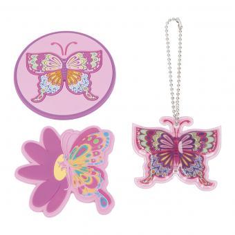 McNeill Schulzubehör McTaggies, Set 3-teilig Butterfly