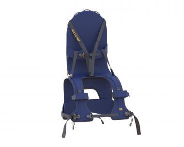MiniMeis Schultertrage G3 schwarz/blau