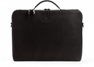 Offermann Businesstasche Men - Workbag L Fine Carbon Black