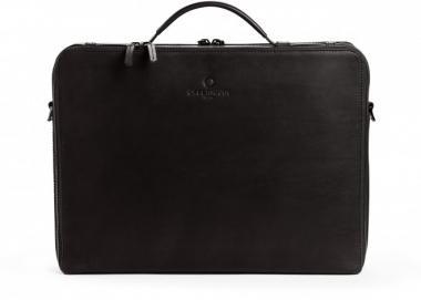 Offermann Businesstasche Men - Workbag L Fine Carbon Black