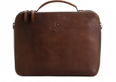 Offermann Businesstasche Men - Workbag S Solid Chestnut Brown