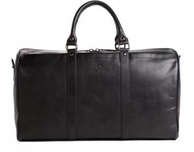 Offermann Duffle Bag Reisetasche Fine Carbon Black