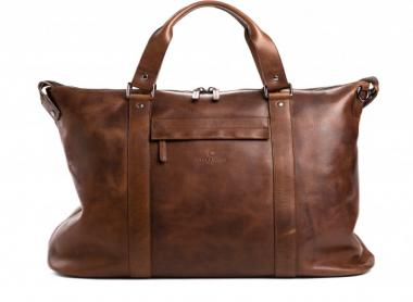 Offermann Weekender Reisetasche Solid Chestnut Brown