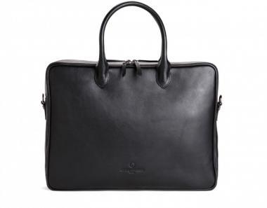 Offermann Businesstasche Women - Workbag Slim Deep Black