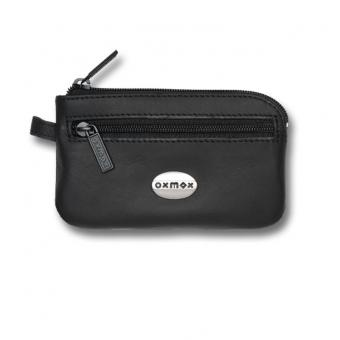 oxmox Leather Keyholder Black