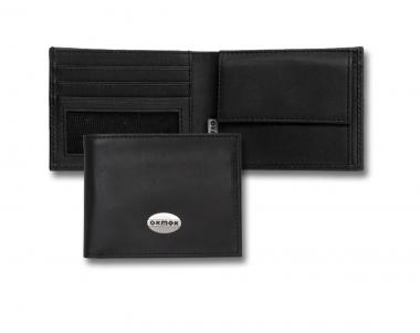 oxmox Leather Pocketbörse Black