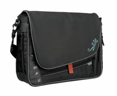 oxmox New Cryptan Messenger Bag M Lizard