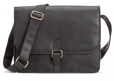 """Packenger Aslang XL Umhängetasche Messenger Bag 15"""" Schwarz"""