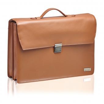 """Packenger Bjorn Aktentasche für Laptop 17"""" Vintage Braun"""