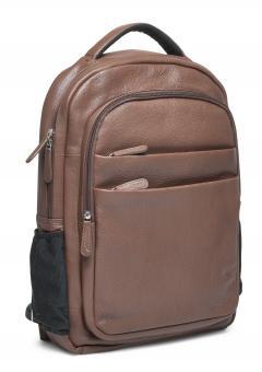 """Packenger Kjaran Rucksack mit Laptopfach 15"""" Vintage Braun"""