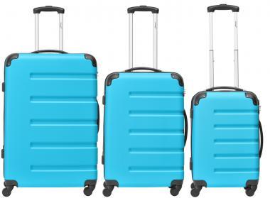 Packenger Marina Koffer 3er-Set M, L + XL