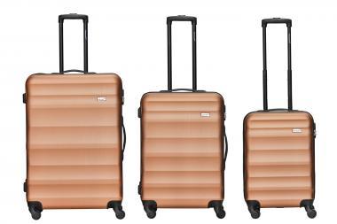 Packenger Timber Koffer 3er Set Bronze