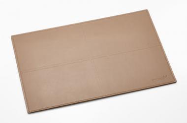 Packenger Tischset aus Rindsleder Beige