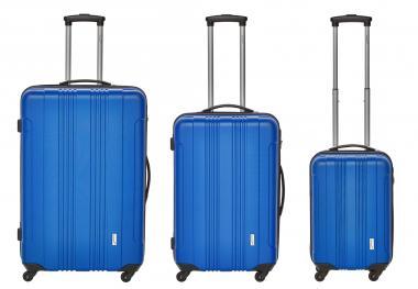 Packenger Torreto Koffer 3er-Set M, L + XL Blau