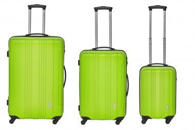 Packenger Torreto Koffer 3er-Set M, L + XL Grün