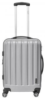 Packenger Velvet Koffer L Silber