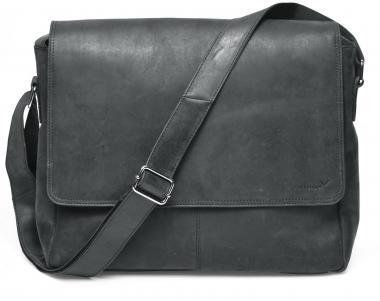 "Packenger Vethorn Umhängetasche Messenger Bag 15"" Schwarz"