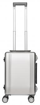 Packenger Aluminium Luxury Traveller Alu Reisekoffer 33L Silber