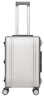 Packenger Aluminium Luxury Traveller Reisekoffer 45L Silber