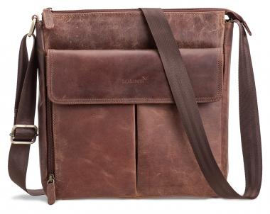 Packenger Horik Umhängetasche Vintage-Braun