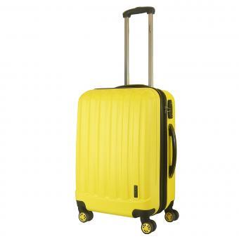 Packenger Velvet Koffer Velvet L Lemon-Gelb