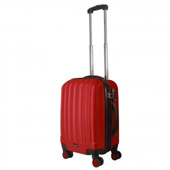 Packenger Velvet Koffer M Rot