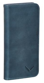 Packenger Klapphülle Luxury für Samsung Galaxy S7 Edge Blau