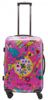 Packenger One World by Della Koffer L Pink