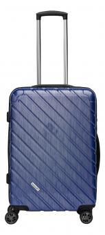 Packenger Vertical Premium Koffer L Blau Metallic
