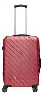 Packenger Vertical Premium Koffer L Rot Metallic