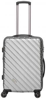 Packenger Vertical Premium Koffer L Silber Metallic