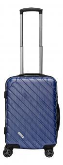 Packenger Vertical Premium Koffer M Blau Metallic