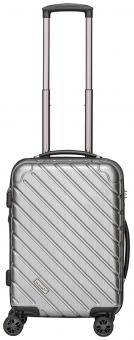 Packenger Vertical Premium Koffer M Silber Metallic