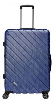 Packenger Vertical Premium Koffer XL Blau Metallic