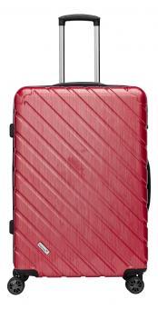 Packenger Vertical Premium Koffer XL Rot Metallic