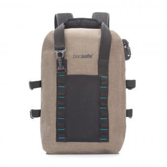 pacsafe Dry 25L Rucksack mit RFID-Schutz Sand
