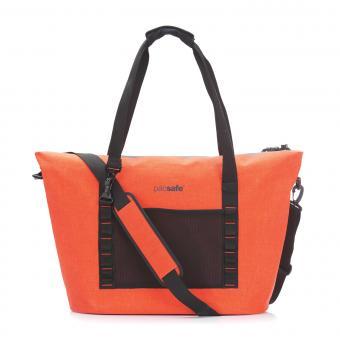 pacsafe Dry 36L Strandtasche mit RFID-Schutz Orange