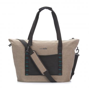 pacsafe Dry 36L Strandtasche mit RFID-Schutz Sand