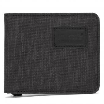 pacsafe RFIDsafe Bifold Geldbörse mit RFID-Schutz Carbon