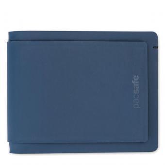 pacsafe RFIDsafe TEC Bifold Plus Geldbörse mit RFID-Schutz Navy/Blue