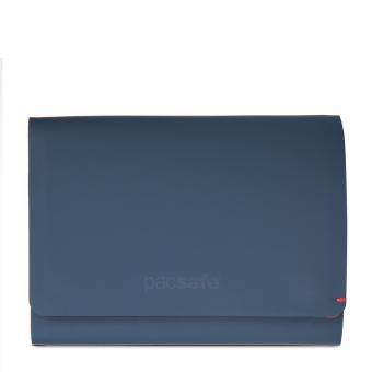 pacsafe RFIDsafe TEC Trifold Geldbörse mit RFID-Schutz Navy/Red